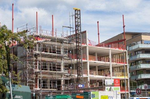 Bygg- og anleggsnæringen står for om lag 15 prosent av de direkte nasjonale klimagassutslippene.