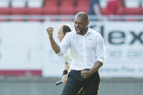 Tidligere Brann-spiller og tidligere Godset-trener David Nielsen skal forsøke å føre Lyngby opp i Superligaen. I øyeblikket leder de 1. divisjon.