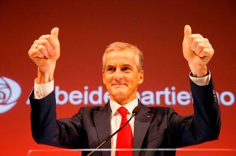 Ap-leder Jonas Gahr Støre kan smile over et godt resultat i lokalvalget.
