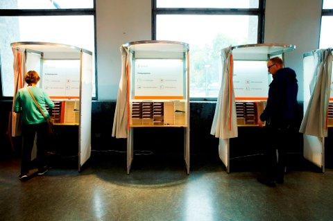 Snaut 60 prosent av velgerne møtte opp ved årets kommunevalg.
