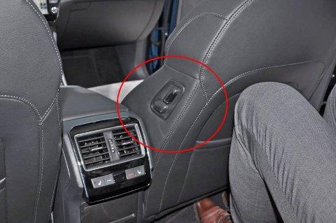 Smart løsning i en bil som virkelig gir mye plass for pengene.