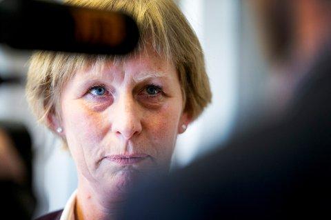 Oslo  20150410. Kjersti Monland er konstituert som ny arbeids- og velferdsdirektør i Nav. Foto: Gorm Kallestad / NTB scanpix