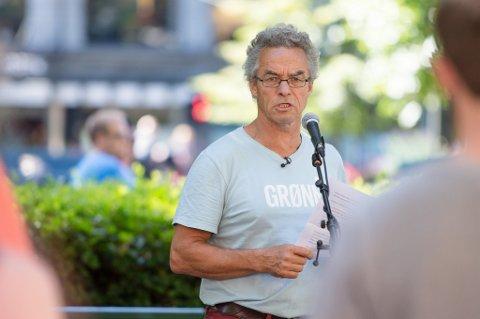Talsmann for De Grønne, Rasmus Hansson vil være blokkuavhengig, men må ta stilling ved ordførervalg.
