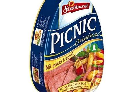 Stabburet trekker tilbake et helt parti av Picnic-skinken etter at det er funnet larver i produktet.