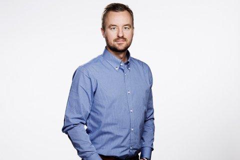 Informasjonssjef Pål Rune Eklo i Gjensidige Forsikring.