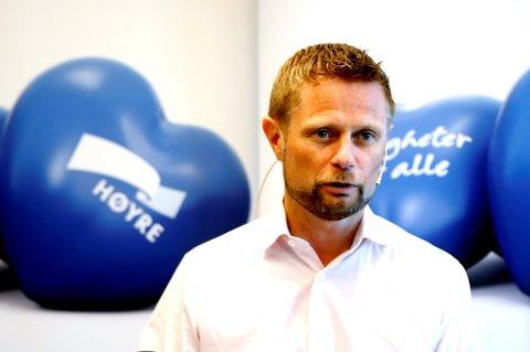 Bent Høie vil endre Høyres narkotikapolitikk.