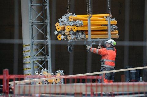 Arbeidsledigheten i Norge er på 4,9 prosent.