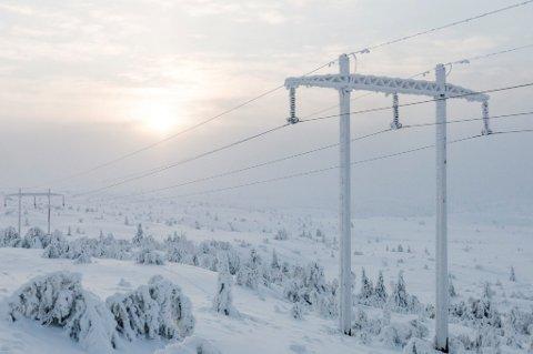 På grunn av det kalde været fortsetter kraftprisen å stige.