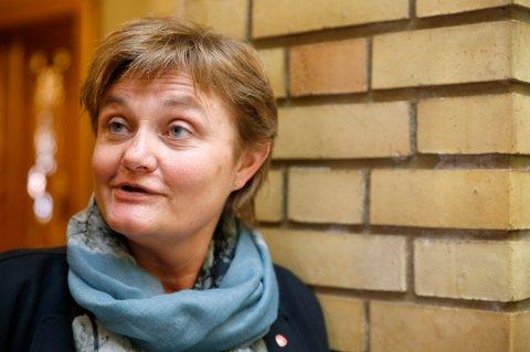 Oslo  20150128. Rigmor Aasrud, Ap  stilte spørsmål i stortingets spørretime. Foto: Terje Pedersen / NTB scanpix