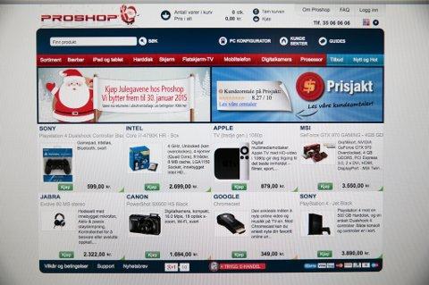 Mange velger å gjøre julegavehandelen på nett.