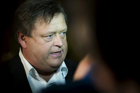 Parlamentarisk leder Harald Tom Nesvik i Frp.