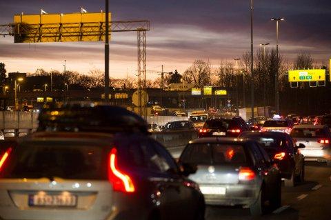 Ikke stress i trafikken de siste dagene før jul.
