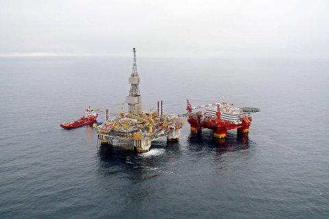 Det deles fortsatt ut mange blokker for oljevirksomhet på norsk sokkel.