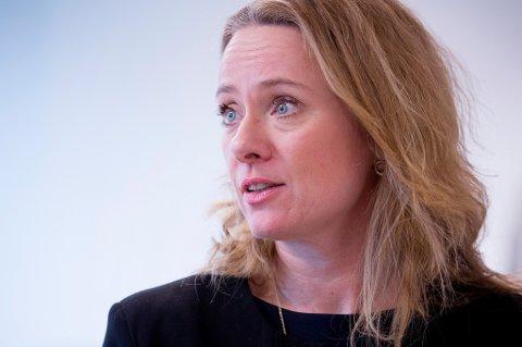 Arbeidsminister Anniken Hauglie (H) er mener en ryddesjau i Nav kan få flere folk i arbeid.