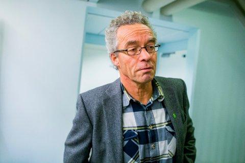 Rasmus Hansson og Miljøpartiet De Grønne må tåle et markant fall i oppslutningen på en fersk måling.