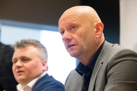 Jørn Eggum i Fellesforbundet og Stein Lier-Hansen fra Norsk Industri leder forhandlingene i årets lønnsoppgjør.