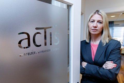 Mina Gerhardsen er generalsekretær i Actis.