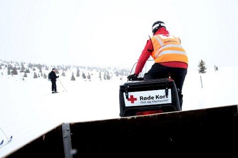 Røde Kors spiller en viktig rolle i beredskapen, spesielt i påskefjellet.