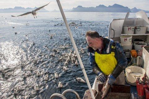 SV frykter at oppsamlingen av fiskerettighetene foregår på stadig større båter.