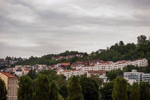 Oslo  20130716. Illustrasjonsbilder av boliger. Hus og blokker i Ekebergåsen i Oslo.  Foto: Fredrik Varfjell / NTB scanpix
