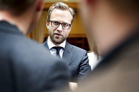 Høyre og Nikolai Astrup (H) er fortsatt tilhenger av norsk medlemskap i EU hvis det er et aktuelt spørsmål.