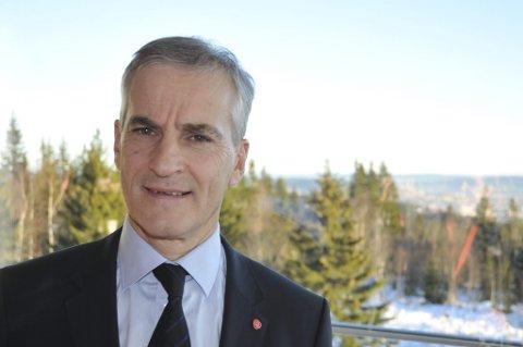 Norsk medlemskap i EU er ingen aktuell problemstilling for Arbeiderpartiet, sier Jonas Gahr Støre.