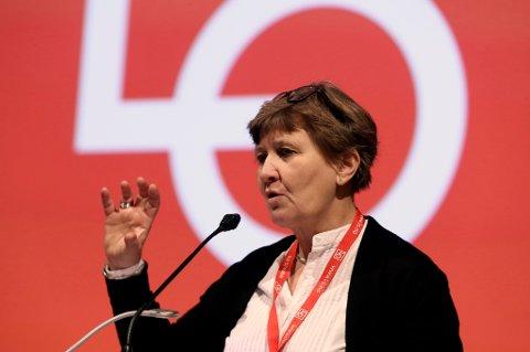 Fagforbundets leder Mette Nord vil ha en «forpliktende økonomisk opptrappingsplan for offentlig sektor».