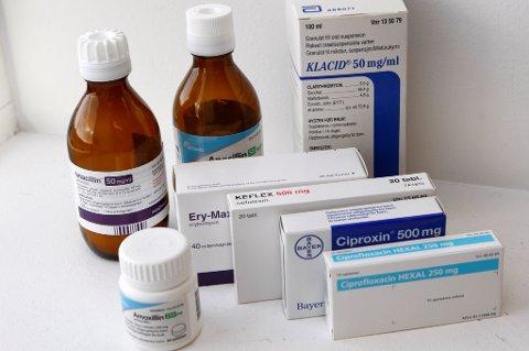 Fra 2012 til 2016 falt antallet resepter på antibiotika til barn med 24 prosent.