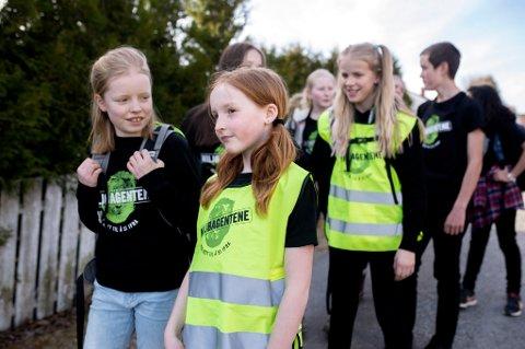 «Beintøft er en nasjonal gå til skolen-kampanje i regi av Miljøagentene».