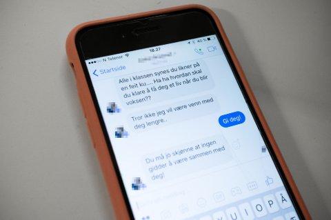 Mobbing i skolen kan også foregå i det skjulte med digitale ytringer.