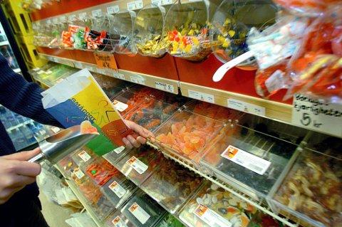 Neste år blir det merkbart dyrere å kjøpe godterier.