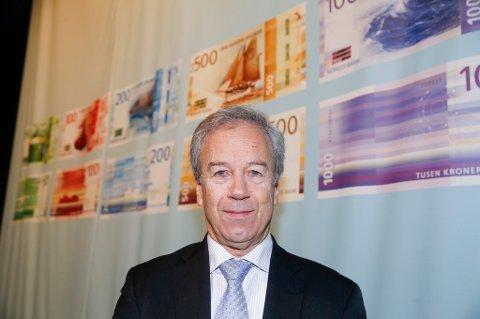 Sentralbanksjef Øystein Olsen anbefalte allerede i 2012 at handlingsregelen burde justeres ned fra fire til tre prosent.