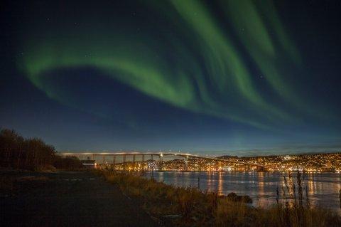 Regjeringen vil vite hva du setter særlig pris på i din by. Dette motivet er fra Tromsø.