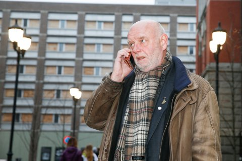 Leder i Transportarbeiderforbundet, Lars Morten Johnsen.