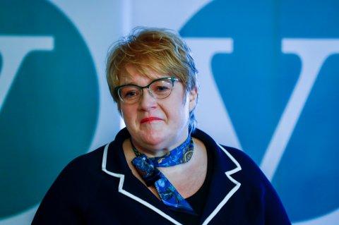 Trine Skei Grande og Venstre kan risikere å sitte igjen med en eneste stortingsrepresentant etter valget i september.