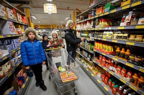 Forbrukerne vil heller ha billig mat enn bra utvalg.