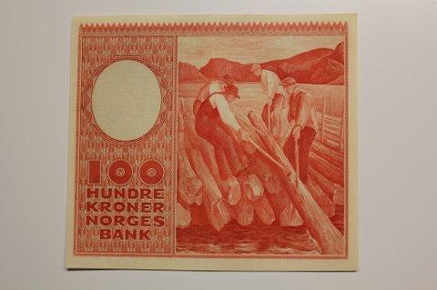 «Tømmerfløteren» fikk 45 prosent av stemmene i kåringen om å bli «tidenes norske seddel».