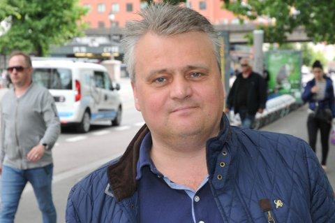Forbundsleder i Fellesforbundet, Jørn Eggum, sitter også i sentralstyret til Arbeiderpartiet. På årets medlemsundersøkelse i Fellesforbundet kan Eggum se sitt eget parti stikke av med over 50 prosent av stemmene. Senterpartiet vokser også kraftig, mens Høyre og Frp går tilbake.
