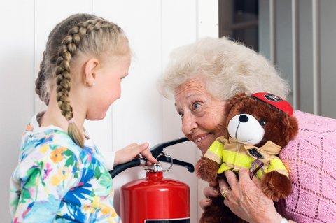 Mange eldre opplever brann eller branntilløp hjemme.