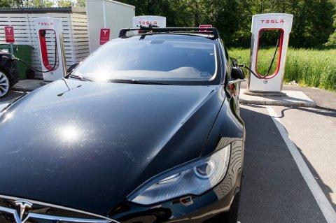 Norske elbil-eiere er mest fornøyd med Tesla S.
