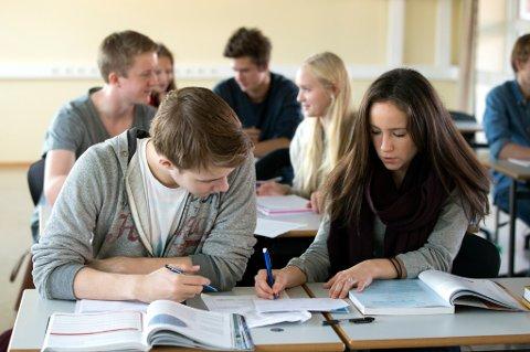 Yrkesfag blir stadig mer populært blant unge.