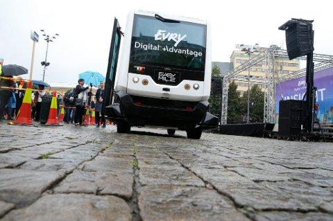 Snart kan førerløse busser bli et vanlig syn i trafikken.