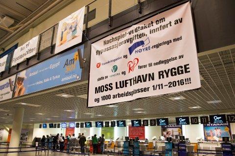 SV er ikke alene om å si nei til ny aktivitet ved Rygge flyplass. Avinor mener at Rygge ikke vil kunne erstatte en tredje rullebane på Gardermoen, fordi kapasiteten er for liten ut i fra det man regner med er det framtidige behovet.