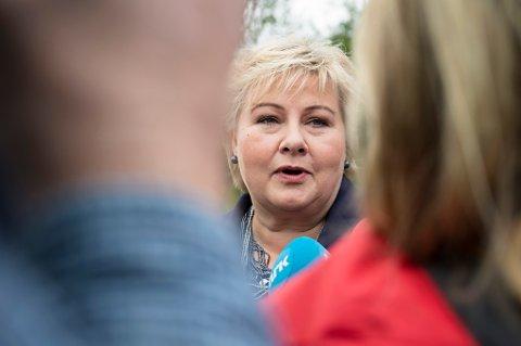 Valgprognosen viser at det går mot fire nye år med Erna Solberg som statsminister.