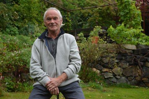 Dagfinn Wold Haavik var misfornøyd med medisinen han fikk mot kolesterolet sitt. Løsningen ble en annen medisin som ikke dekkes av blå resept. Staten har så langt dekket 90 prosent av utgiftene til medisinen, men fra og med neste år er det slutt. Da må Wold Haavik betale selv.