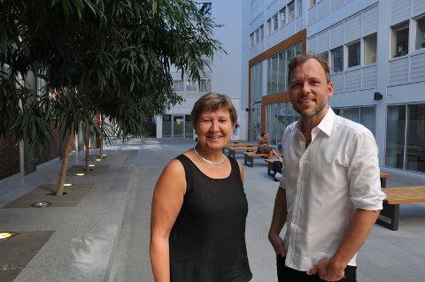 Leder i Fagforbundet Mette Nord og SV-leder Audun Lysbakken er enige om å bevare sykelønnsordningen.