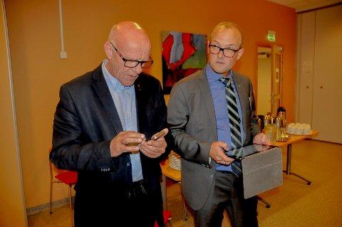 TAPER OG VINNER: Ap og Tor Melvold gikk tilbake, mens Ole André Myhrvold og Sp fortsatt er populære.