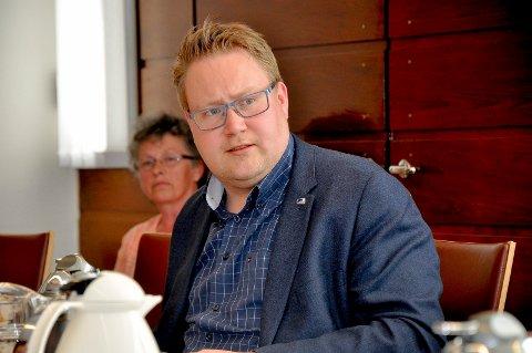 LILLE TRØGSTAD: Christian Granli  og resten av Høyre-gruppa vil at Trøgstad skal inn i en større kommune. - Trøgstad alene blir altfor liten, frykter Granli. arkivfoto.