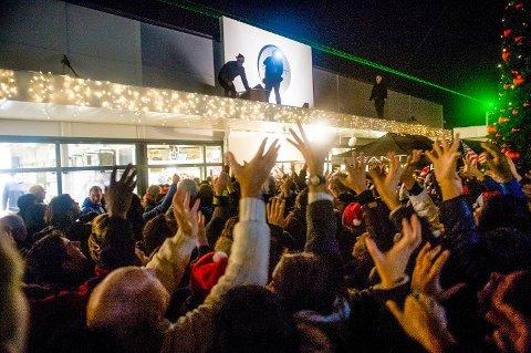 Norwegian Outlet forventer 50.000 besøkende gjester under Black Friday. Her fra en tidligere Black Friday i Vestby.