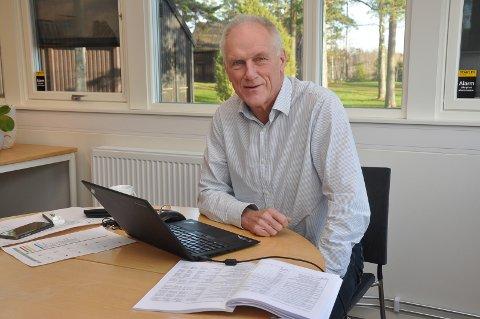 Rådmann Per Egil Pedersen, Skiptvet kommune.